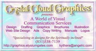 Crystal Cloud Graphics - graphics for the spirtually inclined